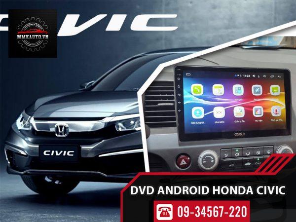 Màn hình xe Honda CIVIC 2008, 2012, 2017, 2018