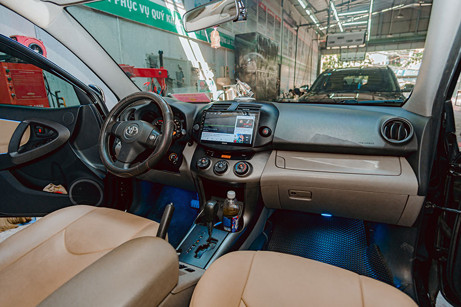 man hinh dvd android toyota android