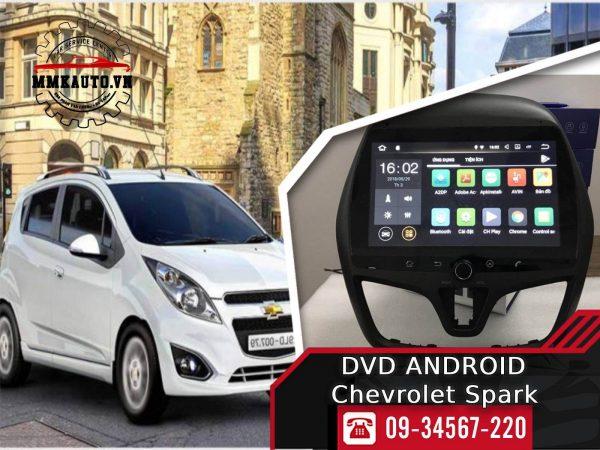 Màn hình dvd android Chevrolet Spark 2018