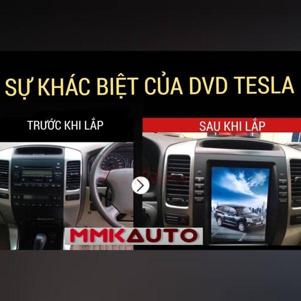 Màn hình TESLA cho Toyota Land Cruiser Prado