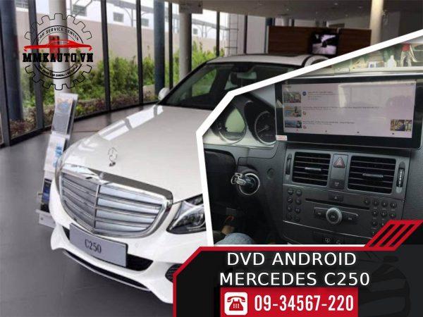 Màn hình dvd Mercedes C250