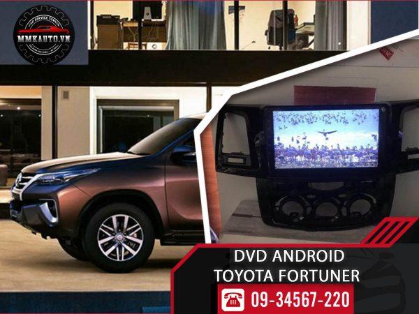 Màn hình dvd android Fortuner 2011, 2015, 2016, 2017, 2018