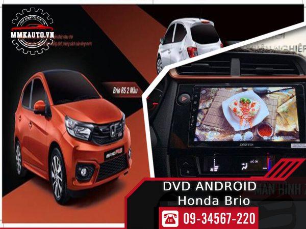 Màn hình Dvd android ô tô Honda Brio