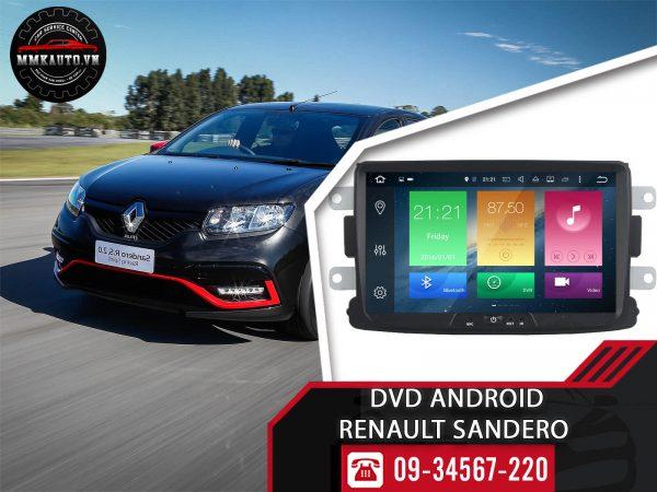 Màn hình Dvd android Renault Sandero