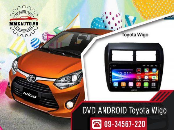 Màn hình Dvd android Toyota Wigo