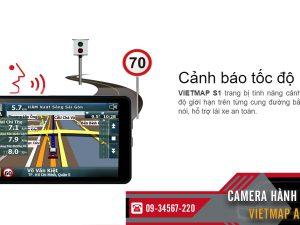camera hanh trinh vietmap a50 canh bao toc do