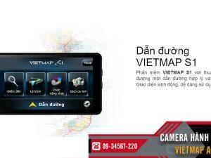 camera hanh trinh vietmap a50 dan duong