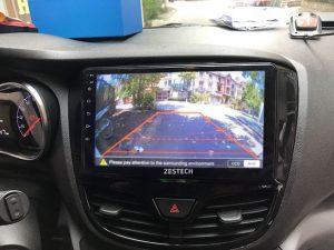 Camera 360 view vô cùng tiện lợi cho người lái