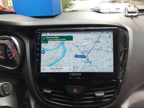 Có bản đồ google map, xem mật độ giao thông rất tiện lợi
