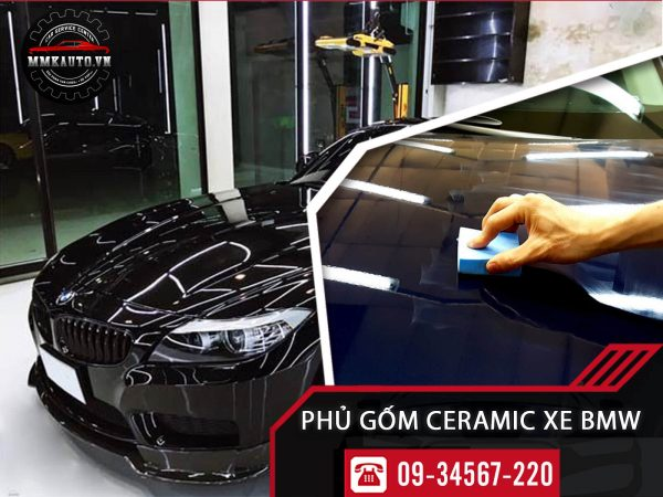Phủ gốm ceramic xe BMW