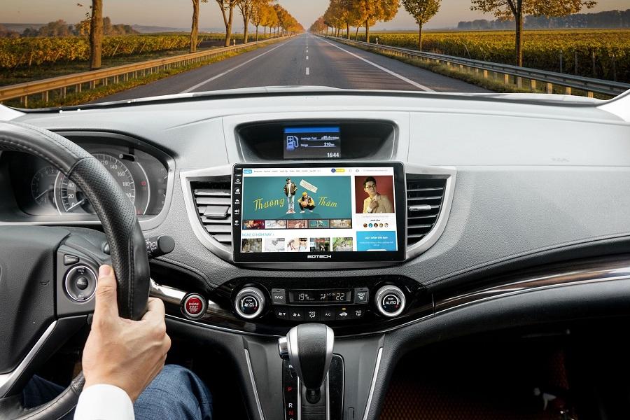 Màn hình dvd android Mitsubishi Xpander Kết nối giải trí đa phương tiện, nghe nhạc, lướt web, đọc báo