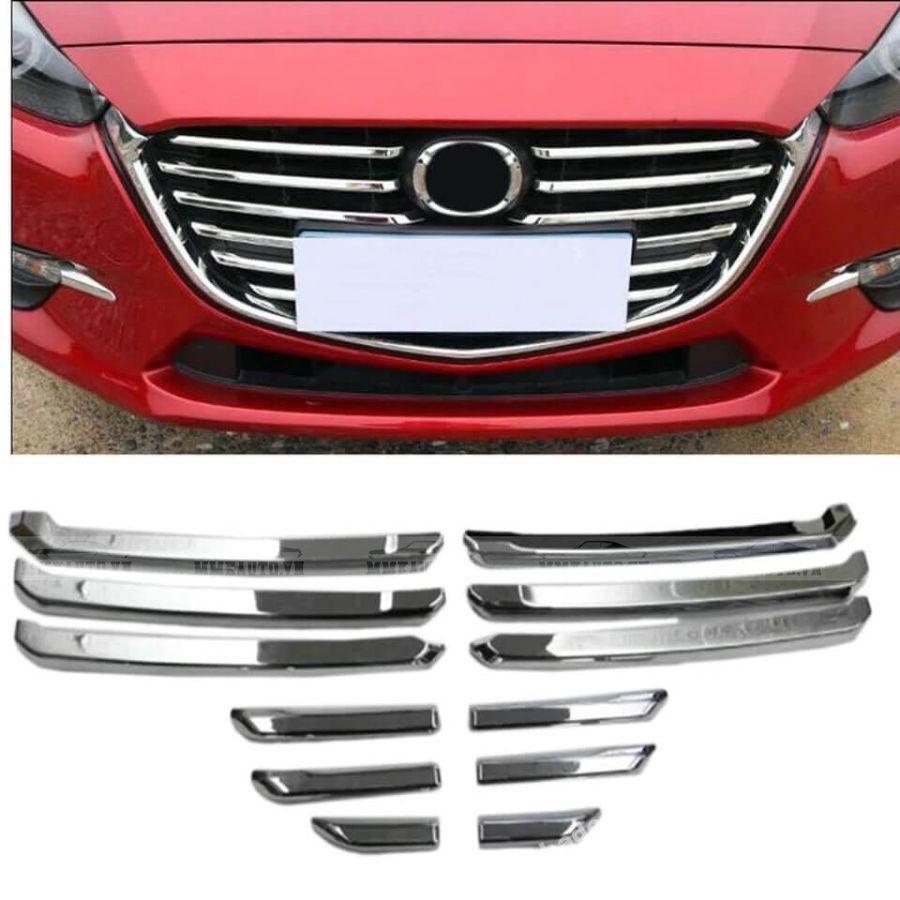 Ốp mặt ca lăng Mazda 3