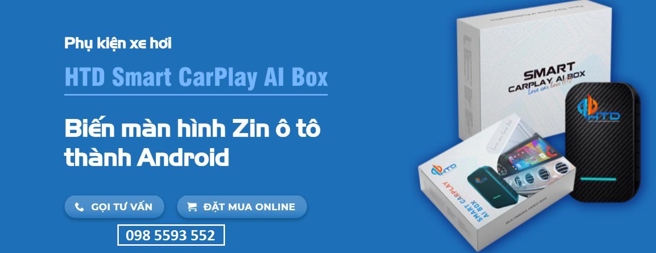 Android Box AI tại MMK Auto