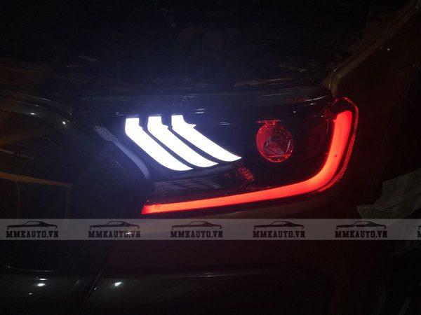 Độ đèn bi led cho ford ranger