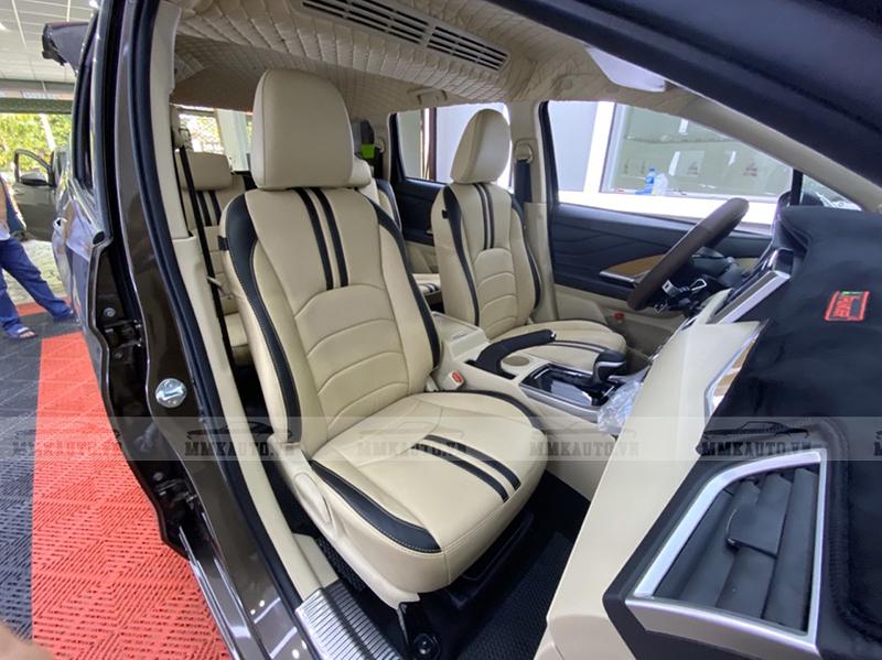 Bọc ghế da Mitsubishi Xpander tại MMK Auto quý khách được đề xuất mẫu