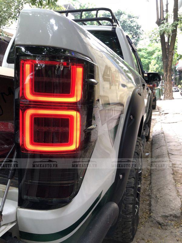 Đèn hậu led được lắp cho Ford Ranger Wildtrak