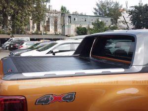 Ford Ranger Wildtrak lắp nắp thùng cuộn điện
