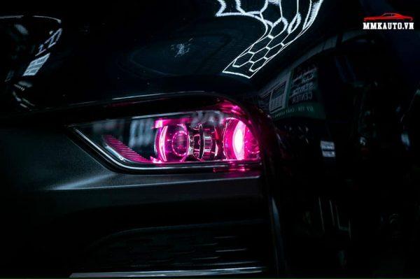 Độ đèn bi led tăng sáng cho Vinfast Lux SA tại MMK Auto