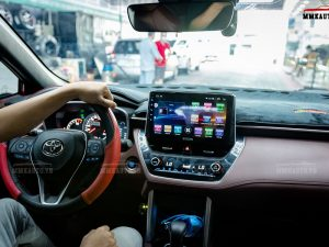 Màn hình DVD Android Toyota Corolla Cross sau khi nâng cấp sẽ có đầy đủ chức năng cao cấp nhất hiện nay