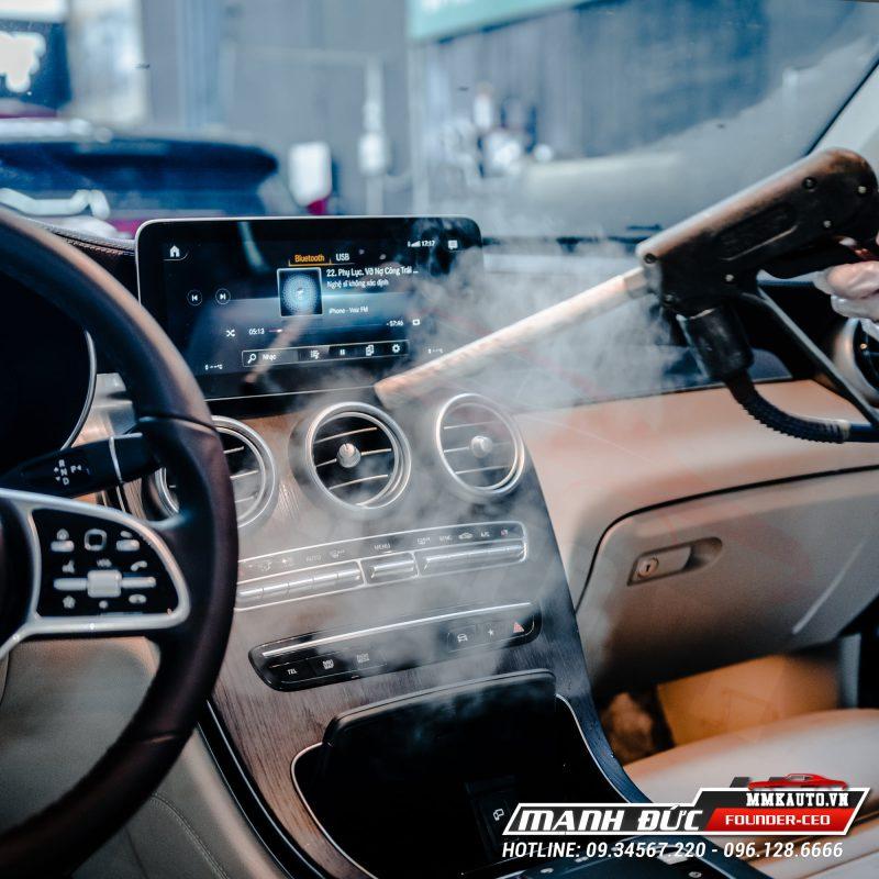Dọn nội thất ô tô tại MMK Auto