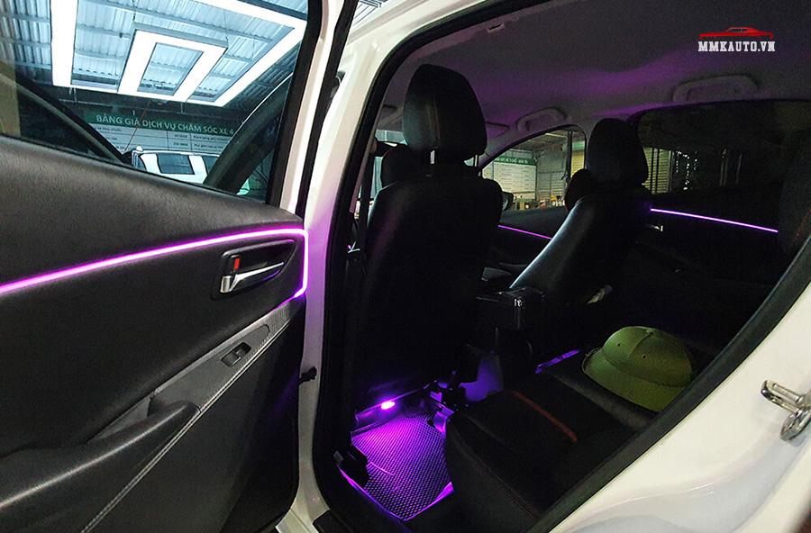 Led nội thất ô tô gầm ghế